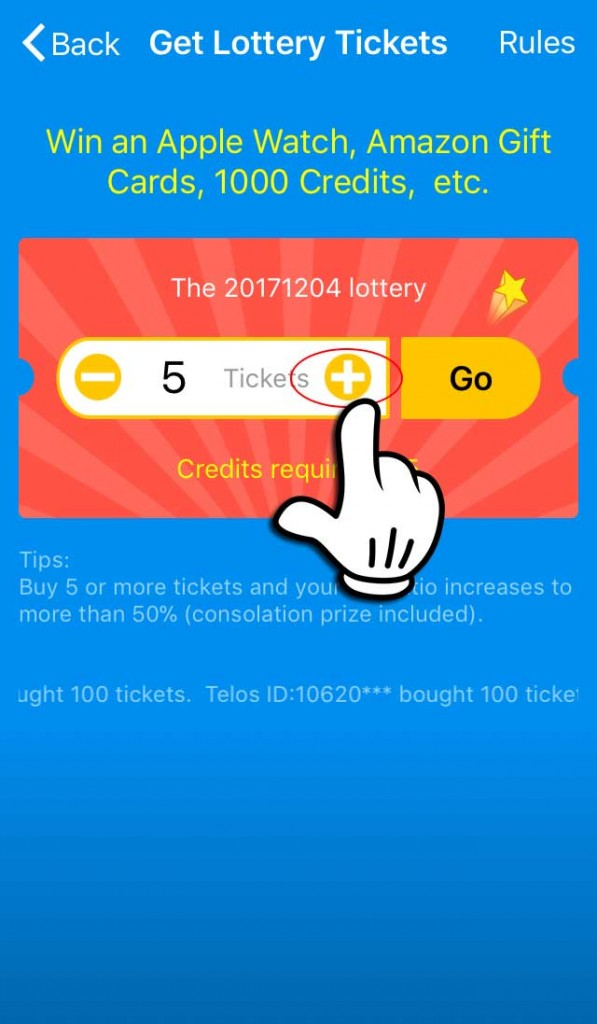 Lottery-tickets